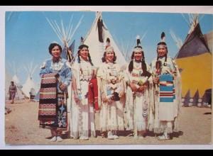 Indianer, Indian Maidens, Canada 1962