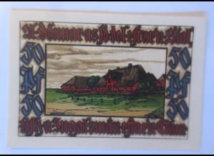 Notgeld Nordseebad, Norddorf Amrum 50 Pf, 31.Dezember, 1921 ♥ (58136)