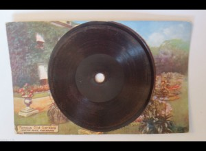 """Ansichtskarte,Tuck & Sons, Schallplatte-Gramophone"" 1910, Oilette♥ (33251)"
