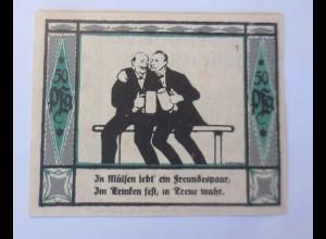 Notgeld Der Gemeine Mülsen St Jacob, 50 Pf, 2 September 1921 ♥