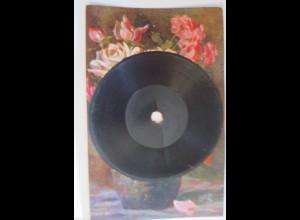 """Ansichtskarte,Tuck & Sons, Schallplatte-Gramophone"" 1910, Oilette♥ (33260)"