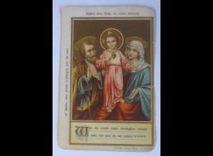 Religion, Gebetsblättchen, Heilige, 1900 ♥