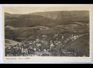Krummhübel Karpacz Ortsansicht Panorama 1941