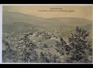 Krummhübel Karpacz Ortsansicht Panorama ca. 1910