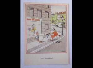Comic, Ein Märchen, Hutladen, 1910, Will Halle ♥ (58887)