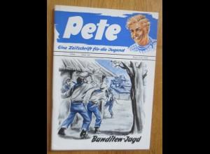 Zeitschrift Pete Banditen-Jagd 1954 Heft 64 ♥