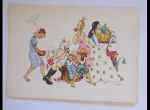 Märchen, Schneewittchen, Gestiefelter Kater, Hänsel & Gretel, 1945 ♥ (68330)