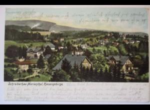 Schreiberhau-Marienthal im Riesengebirge, Szklarska Poręba, 1903