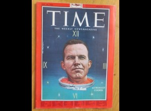 Time Magazine, Astronaut Cooper, 24 May, Mai 1963 ♥