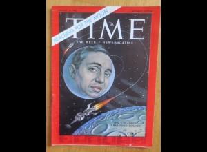 Time Magazine, Space Planner D. Brainerd Holmes, 10 August 1962 ♥