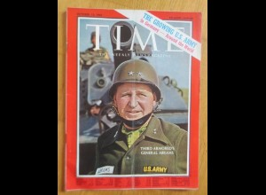 Time Magazine, Third Armored´s General Abrams 13 October 1961 ♥