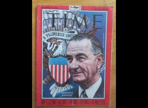 Time Magazine, President Johnson 29. November 1963 ♥