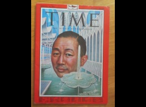 Time Magazine, Architect Minoru Yamasaki, 18. January, Januar 1963 ♥