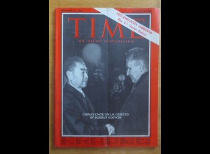 Time Magazine, China´s Chou En-Lai Greeted By Russia´s 13 November 1964 ♥