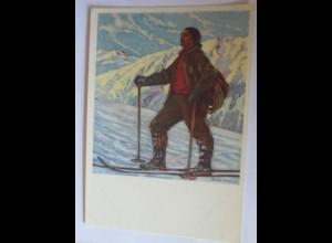 """Bergführer, Hans Beat Wieland, Luzern"" 1945 ♥"