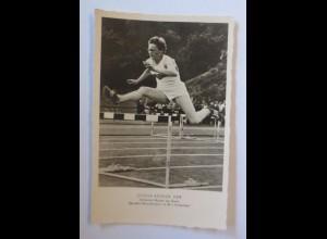 Gisela Köhler DDR, Deutsche Rekordhalterin, in 80 m Hürdenlauf 1958 ♥