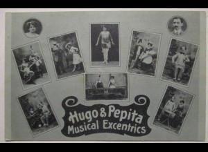 Zirkus Variete, Hugo & Pepita, Comedy Musical Excentrics ♥ (9607)