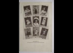 Zirkus Variete Theater, Henriette, Transformatie Soubrette aus Holland
