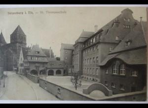 Strassburg im Elsaß, St. Thomasschule, ca. 1910