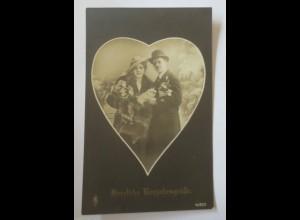 Weihnachten, Frauen, Männer, Herz, Glückssymbole, 1910 ♥ (30107)