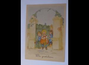 Kinder, Mode, Wir Gratulieren, 1956, Lilly Schott ♥ (53722)