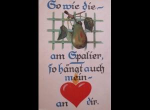 Valentinstag, Herz, Spruch, 1919 ♥ (24970)