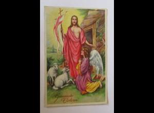 """""""Ostern, Lamm, Engel, Jesus ist auferstanden"""" 1937 ♥"""