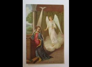 Weihnachten, Heilige, Engel, Taube, Lilie, 1937 ♥ (35620)