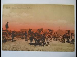 Italien, Tripoli, Soldaten, ca. 1910
