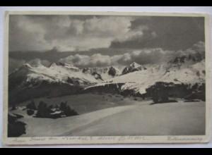 Italien, Südtirol, Arosa, Inf. Batl. Dillingen 1916 nach Günzburg