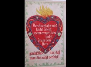 Valentinstag, Herz, Spruch, 1910 ♥ (21909)