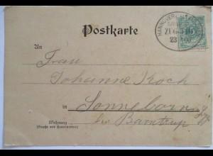 Bahnpost Hannover Altenbeken Zug 510, 1900 (48362)
