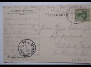 D.Reich Bahnpost Scharzfeld Andreasberg, AK Bad Lauterberg 1905 (30085)