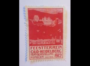 Vignetten, Feestterrein Oud-Heidelberc Numecen, Niederlande 1912 ♥ (70449)