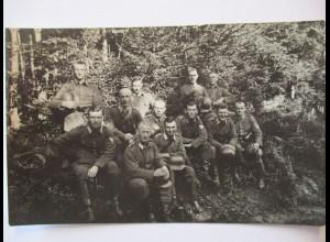 Deutsche Soldaten, schwarzes Band am Helm, Schulterklappe Nr.20 (39655)