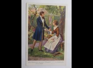 Märchen, Das Geheimnis der alten Mamsell, E. Marlitt, 1930 ♥(69725)