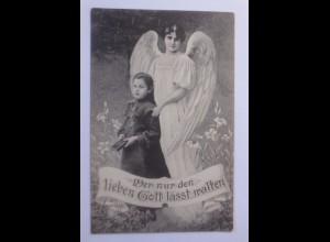"""""""Engel, Schutzengel, Kinder, Bibel"""" 1908 ♥"""