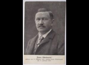 Österreich, Sozialdemokratie, Franz Schuhmeier , 1913