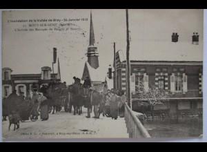 Frankreich, Vallee de Bray, Mouy sur seine, Feldpoststation 45, 1915