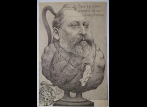 Eduard VII. von Großbritannien als Vase, 1903, Orens ♥ (17413)