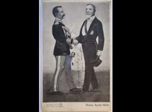 Italien, König Viktor Emanuel III., Frankreich, Präsident, 1904