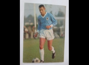 Fußball, Friedhelm Konietzka, Werbung Rückseite Aral 1960 ♥ (57493)