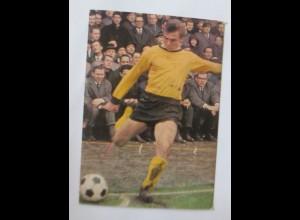 Fußball, Reinhard Libuda, Werbung Rückseite Aral 1960 ♥ (50370)