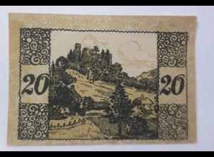 Notgeld, Gutschein, Gemeinde Windegg Zwanzig Heller 1920 ♥ (69576)