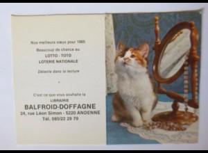 """""""Katzen, Taschenkalender, Werbung"""" Jahr 1985 ♥"""